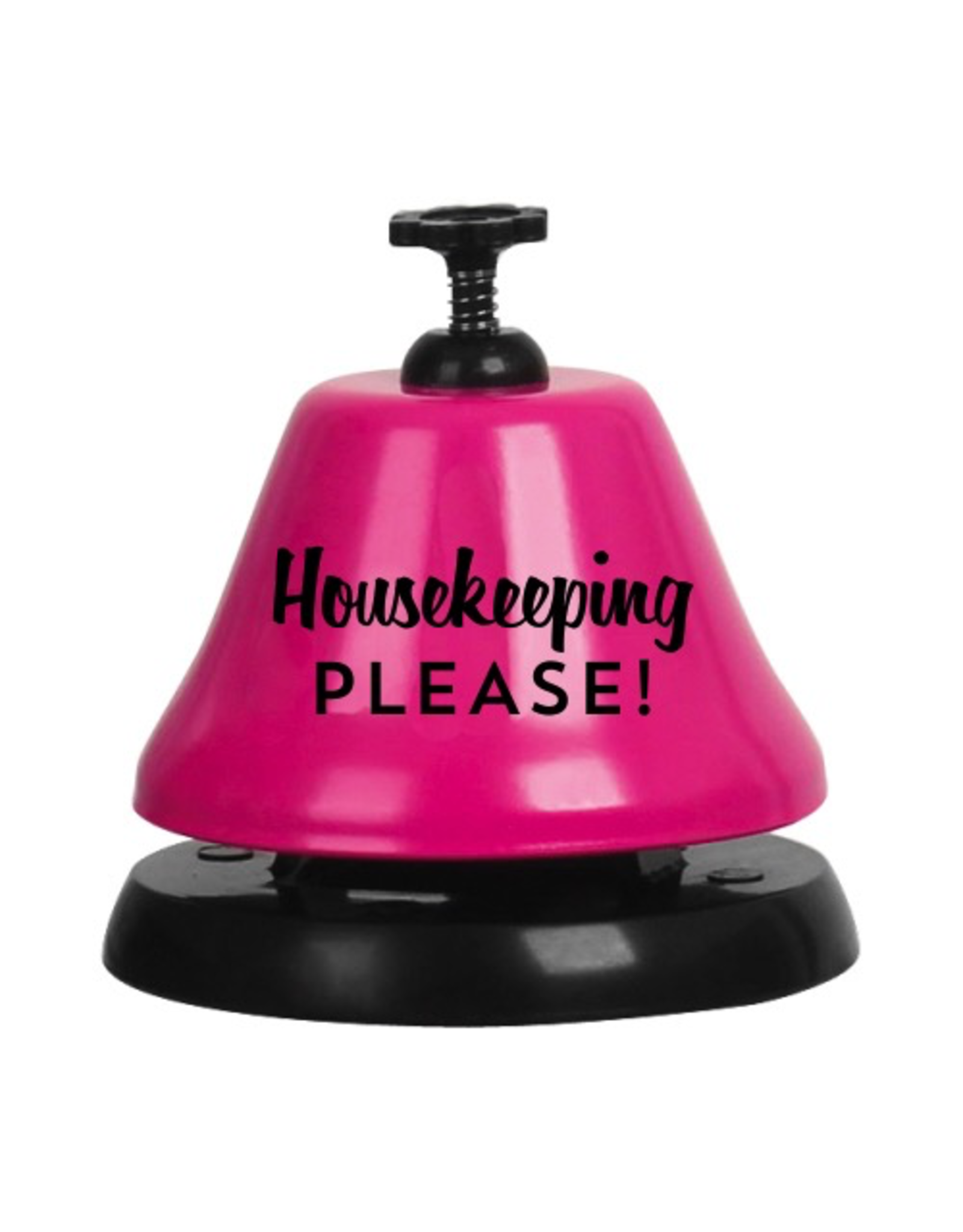 Slant Bartop Bell F155416 Housekeeping Please - Pink