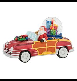 Christopher Radko Snowglobes Santas Vintage Ride Snowglobe