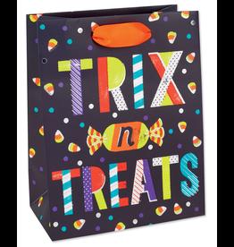 PAPYRUS® Halloween Gift Bag Medium 9x7x4 Tricks n Treats