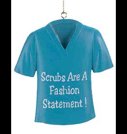 Kurt Adler Christmas Medical Scrub Ornament Fashion Statement