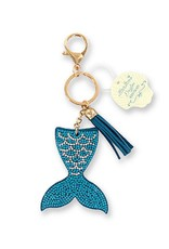 DM Merchandising Dazzler Mermaid Keychain 6.5 inch Sparkling Mermaid Tail