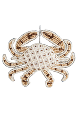 Gallerie II Bahamas Beaded Crab Ornament