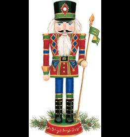 Caspari Ornament Gift Tags 4pk Christmas Nutcracker