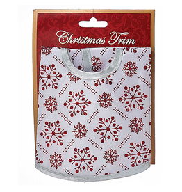 Kurt Adler Christmas Tree Skirt Miniature 12D inches Red White