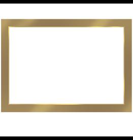 Caspari Name Tags Self Adhesive Labels 12pk Antique Gold Foil