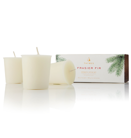 Frasier Fir Votive Candles 3pk Set 2 Oz Each