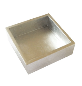 Caspari Silver Lacquer Cocktail Napkin Holder