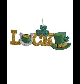 Kurt Adler Irish Christmas Ornament - Irish Luck