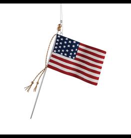Gallerie II Old Glory Flag Ornament Patriotic Americana