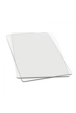 Accessory Die Cutting Pads -Standard 9x6 inch 1 Pair Clear