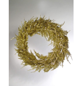Katherine's Collection Christmas Wreaths Gold Tinsel Wreath