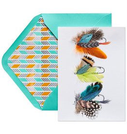PAPYRUS® Fathers Day Card Fishing Lures