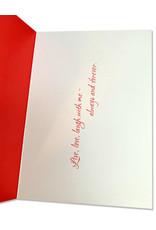 Anniversary Card Live Love Laugh