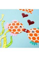 PAPYRUS® Anniversary Card Fish Kissing