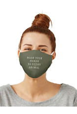 Care Cover™ Protective Face Mask Wash Your Hands Ya Filthy Animal