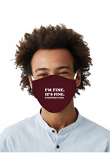 Care Cover™ Protective Face Mask Im Fine Its Fine Everythings Fine