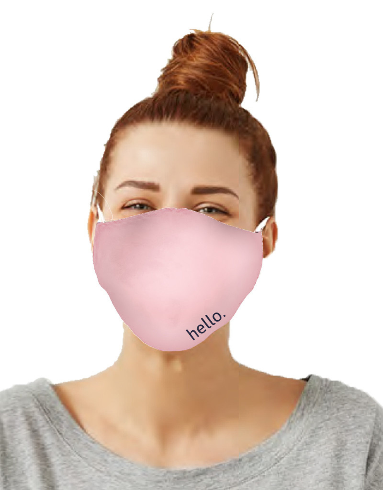 Care Cover™ Protective Face Mask Hello