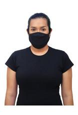 Gildan Adult Cotton Face Mask Black