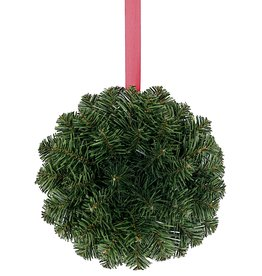 Darice Christmas Kissing Ball 8 Inch Hanging Decoration