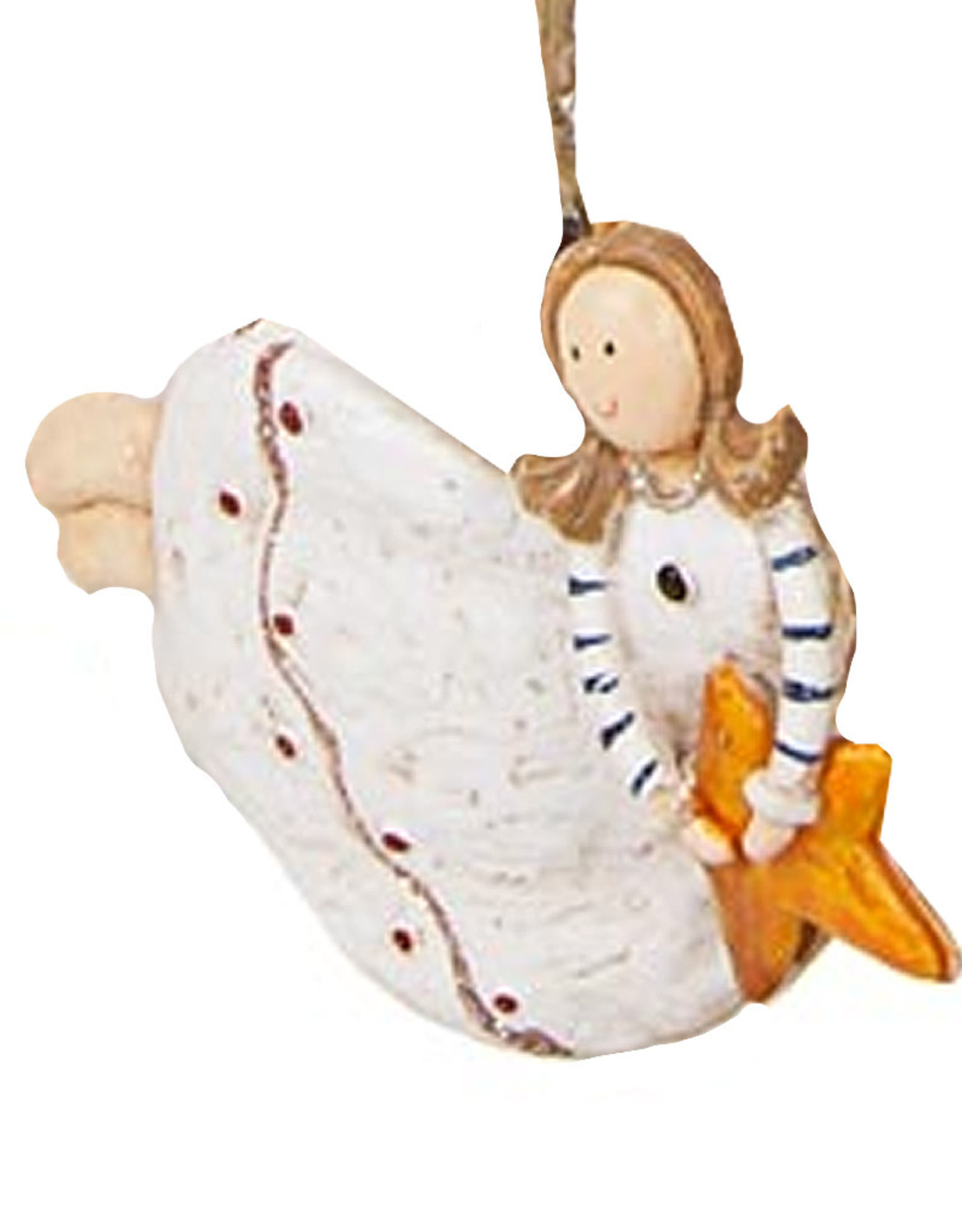 Darice Angel Ornament Flying Holding Star
