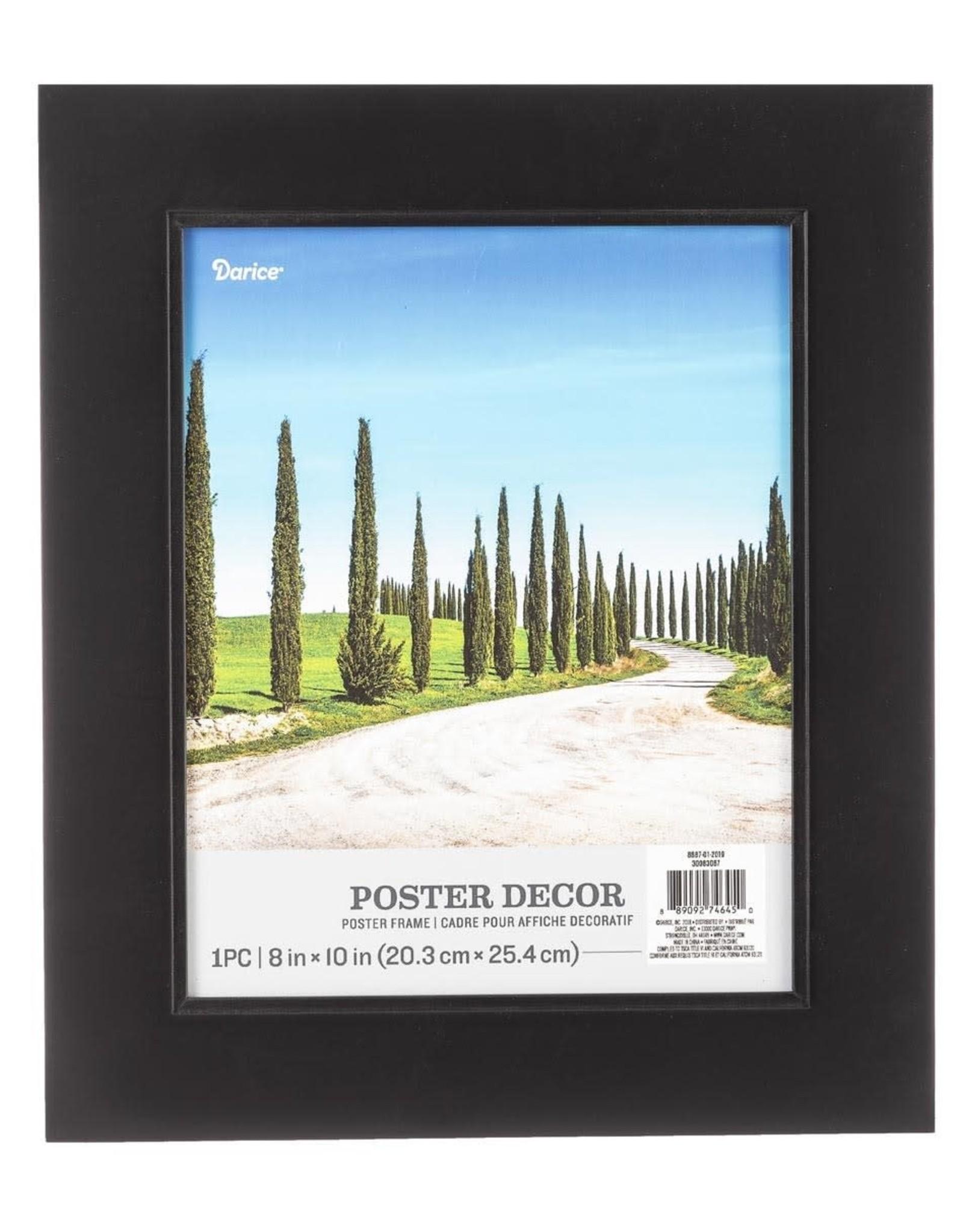 Darice 8 x 10 Poster Frame In Black 11.25x13.25 Inch