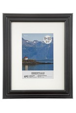 Darice Black Picture Frames 8x10 Inch 4 Pack