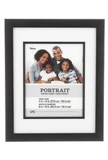 Darice 11x14 Portrait Picture Frame Black 12.7x15.7 Inch