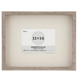Darice Shadowbox 11x14 Inch Frame In Gray