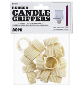 Darice Rubber Candle Grippers Taper Holders 20 Pieces