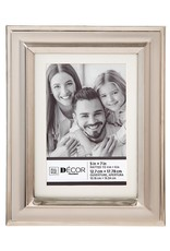 Darice Beveled Two-Tone Picture Frame W Matting 5x7 To 4x6