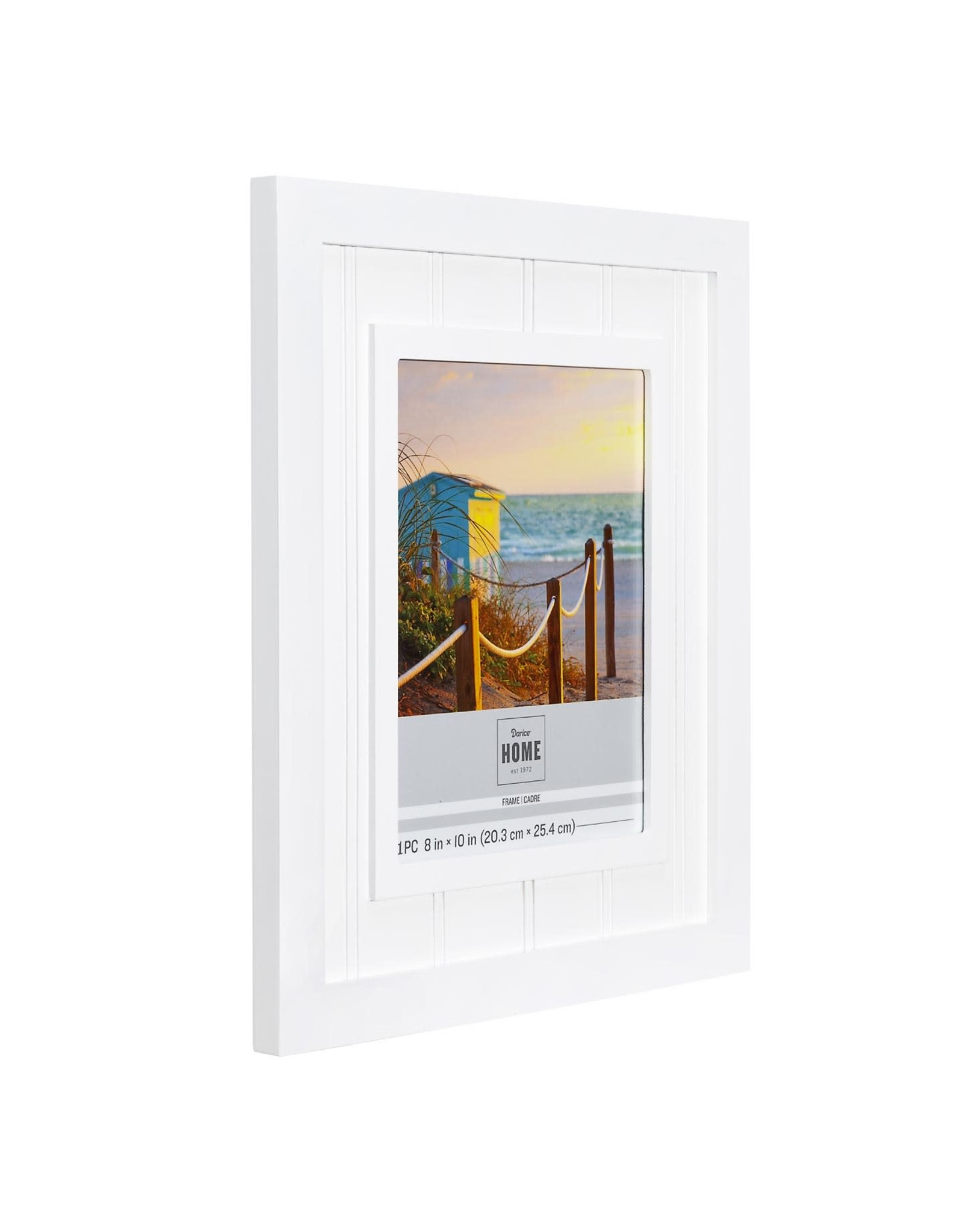 Darice Beadboard Picture Frame For 8x10 Photo