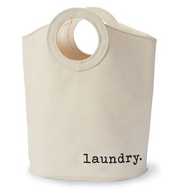 Mud Pie Laundry Storage Tote - Hamper