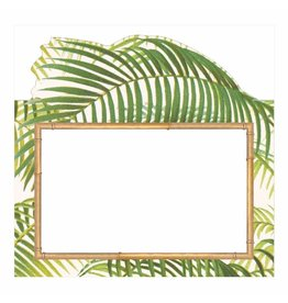 Caspari Table Place Cards Tent Style 8pk Under The Palms