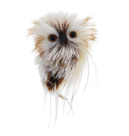 Kurt Adler Owl Ornament Brown And Cream Style A
