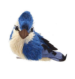 Kurt Adler Blue Jay With Clip Bird Ornament Position R