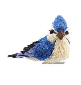 Kurt Adler Blue Jay With Clip Bird Ornament Position L