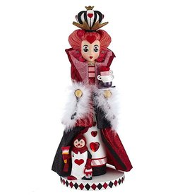 Kurt Adler Hollywood Queen Of Hearts Nutcracker Of Alice In Wonderland