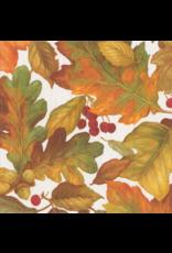 Caspari Thanksgiving Fall Paper Lunch Napkins 20pk Autumn Leaves II