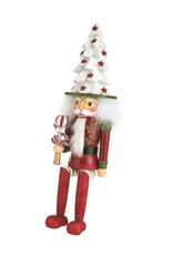 Kurt Adler Hollywood Tree Hat Nutcracker Shelf Sitter 17 Inch
