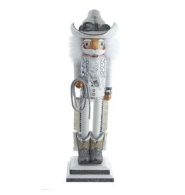 Kurt Adler Hollywood Rhinestone Cowboy Nutcracker 19 Inch