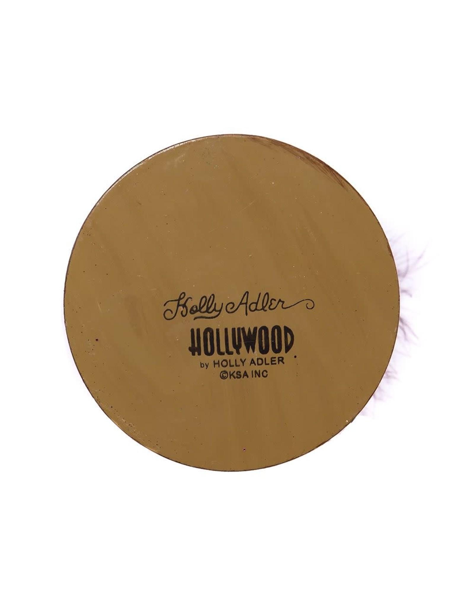 Kurt Adler Hollywood Wood Wine King Nutcracker 17.5H