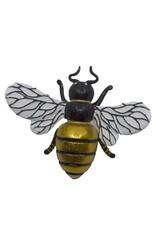 Kurt Adler Large Bee Glass Nobel Gems Clip-On Ornament 6.5 Inches