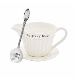 Mud Pie Gravy Boat So Gravy Baby Set W Good Gravy Ladle