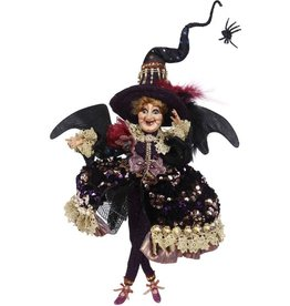 Mark Roberts Fairies Halloween Witches Sparkling Witch SM 14 Inch