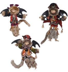 Mark Roberts Fairies Flying Halloween Monkeys Set of 3 SM 13 Inch