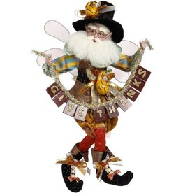 Mark Roberts Fairies Thanksgiving Fairy W Give Thanks Banner MD 16.5in