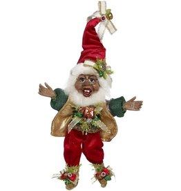 Mark Roberts Fairies Elves Black American Stocking Stuffing Elf SM 10 inch