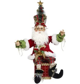 Mark Roberts Fairies North Pole Holly Elf Stocking Holder 20 Inch