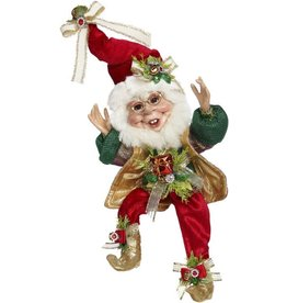 Mark Roberts Fairies Christmas Elves Stocking Stuffing Elf SM 10 inch