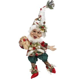 Mark Roberts Fairies Christmas Elves Teddy Bear Elf SM 10.5 inch